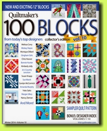Quiltmaker's 100 Blocks Vol.10