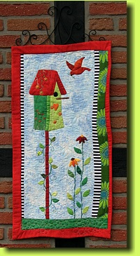 Summer Bird House 1