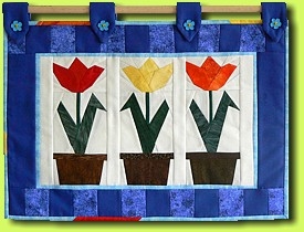 Tulips (Quilt from Guilitta)